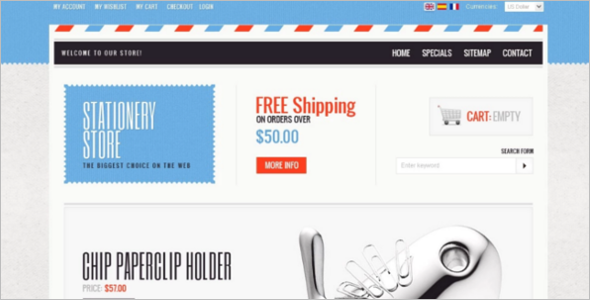 Pens & Pins PrestaShop Theme