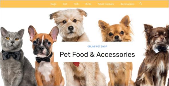 Pet Store PrestaShop Template