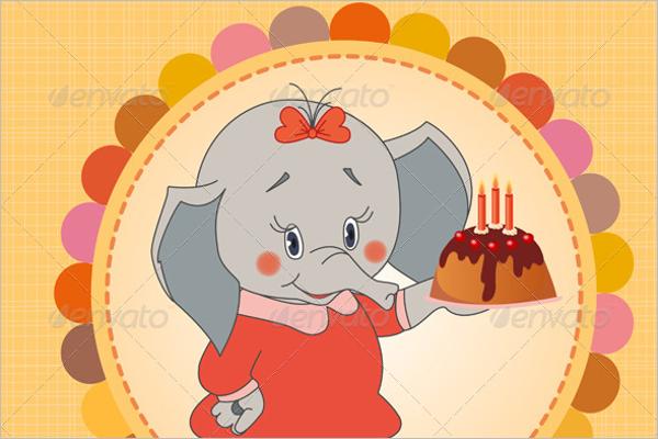 Pets Birthday Party Vector Design