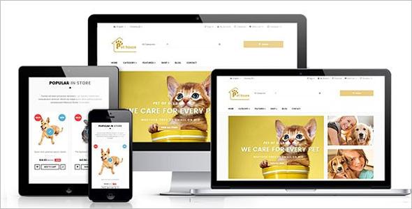 Pets House Responsive Prestashop Theme