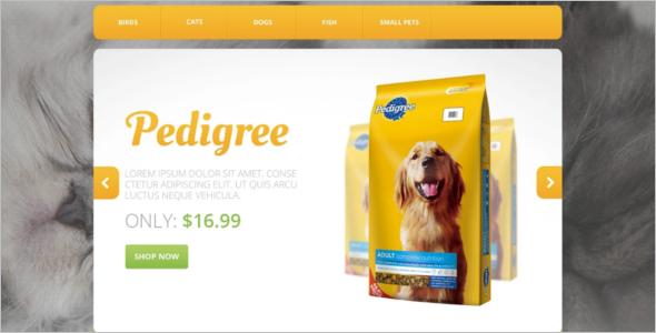 Pets OsCommerce Template