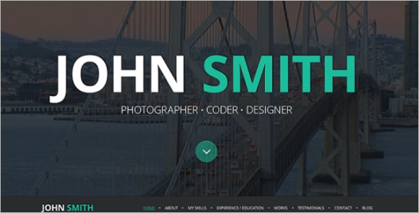 Photography Designer WordPress Theme