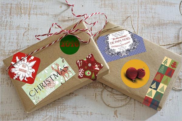 Photography Gift Box Design Mockup