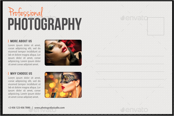 Photography Postcard Templates Free Premium Templates - Photography postcard template