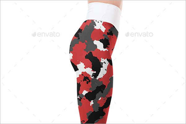 Photoshop Leggings Mockup Designs
