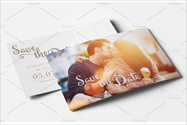 Photoshop Photography Postcard Design
