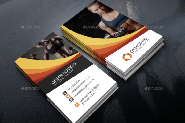 59 gym business card templates free psd designs fitness business card design template fbccfo Images