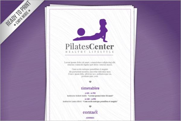 Pilates GYM Brochure