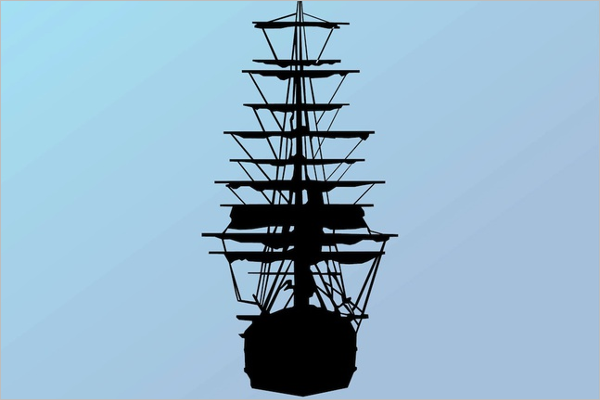 Pirate Sailing Ship Adventures Design