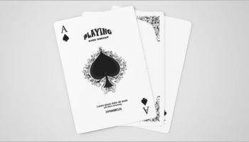 Playing Cards Mock up