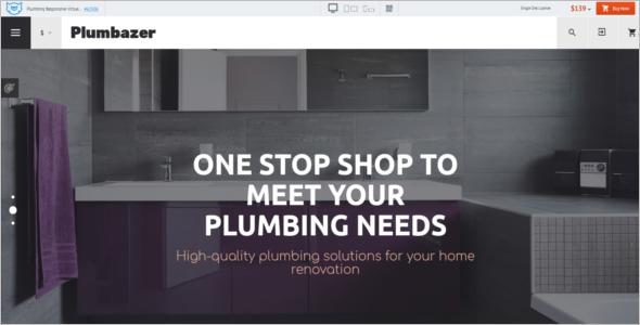 Plumbing Responsive VirtueMart Template