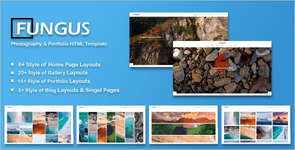 Portfolio HTML5 Landing Page Template