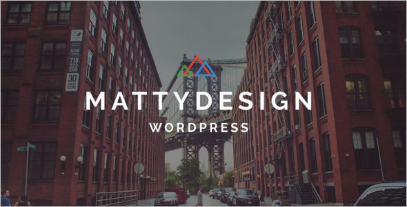 Powerful Landing Page WordPress Template