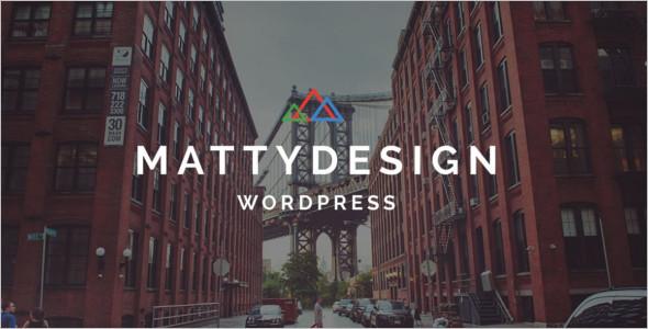 Powerful Landing Page WordPress Template