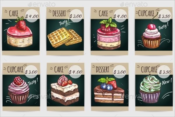 Premium Cupcakes Template