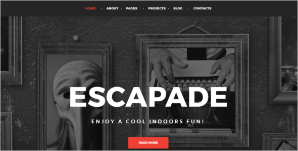 Premium Entertainment WordPress Template