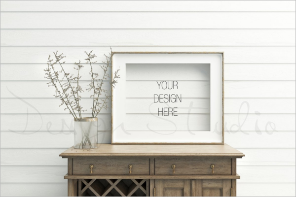 Premium Photo Display Mockup