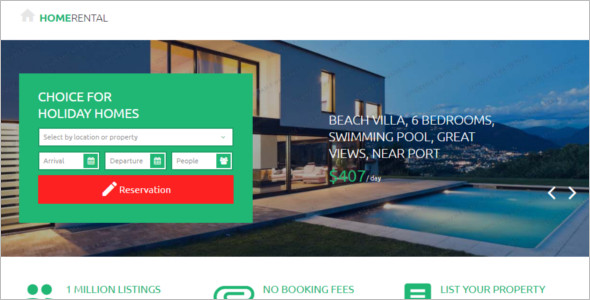 Premium Real Estate Landing Page Template