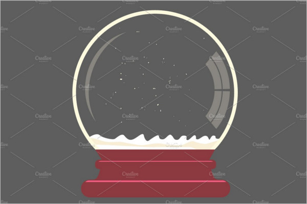 Premium Snowball Mockup Design