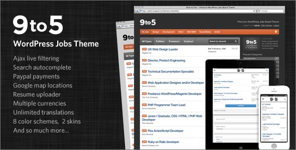 Premium WordPress Jobs Theme
