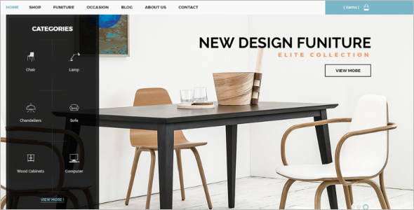 Prestashop Furniture Store Theme