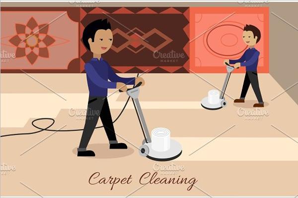 Printable Cleaning Uniform Design