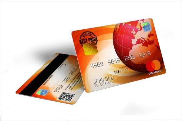 PrintableCredit Card Mockup Template