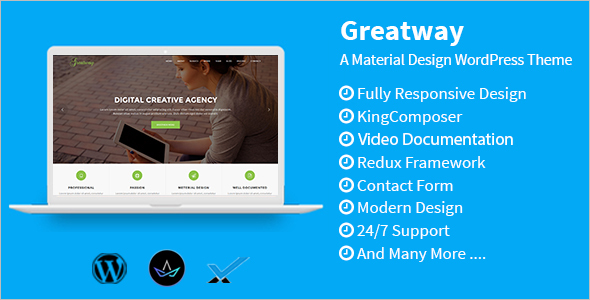 Professional Design WordPress Theme
