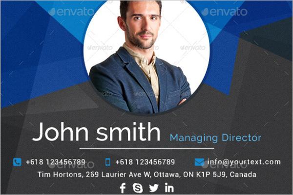 ProfessionalEmail Signature Design