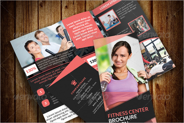 Professional GYM Brochure Template