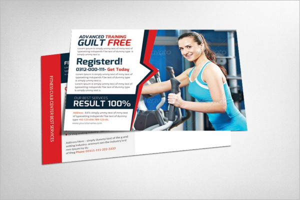 Professional Post Card Template