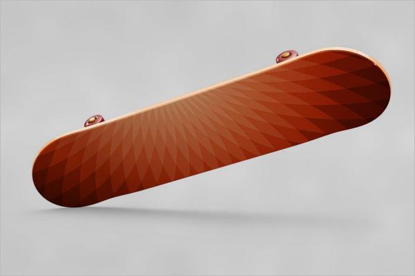 ProfessionalSkateboard Mockup Design