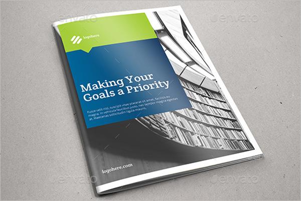 Professional Corporate Brochure Template