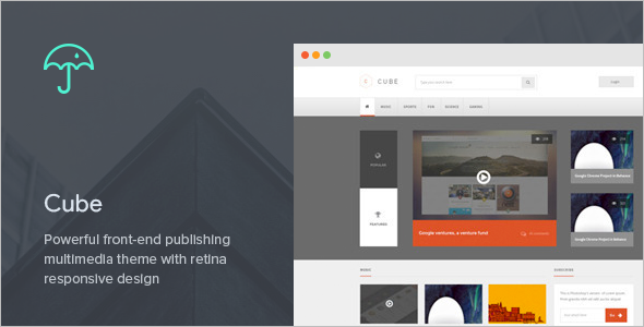 Publishing Multimedia WordPress Theme