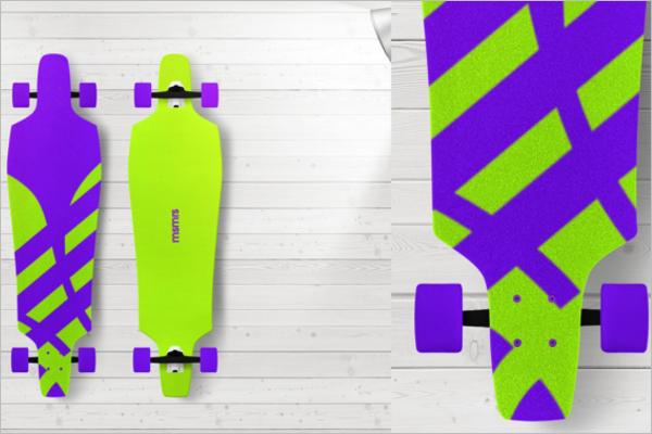 Radium ColourSkateboard Design