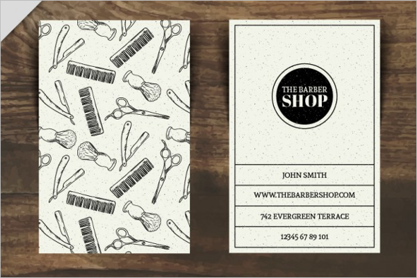 Ready To Print Business Card Design