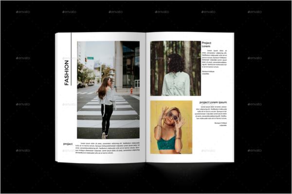 Ready To Print Portfolio Template