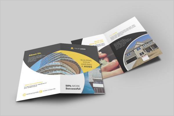 Real Estate Bi Fold Brochure