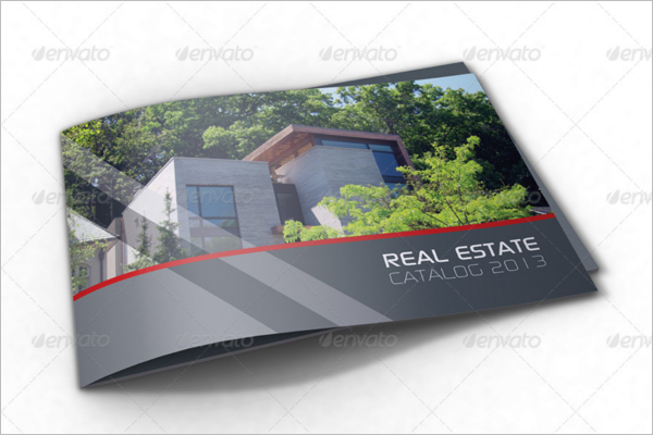 Real Estate Brochure Layered Template