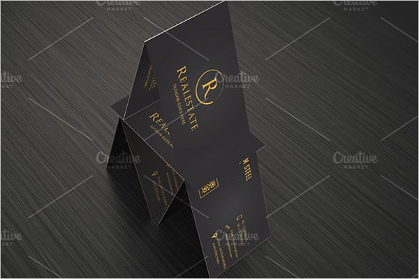Real Estate Business Card PSD Template
