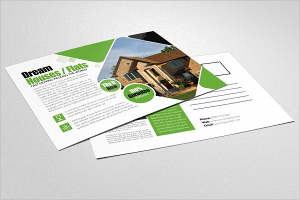 Real Estate Business Construction Postcard