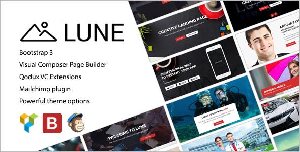 Real Estate Marketing Landing Page Theme