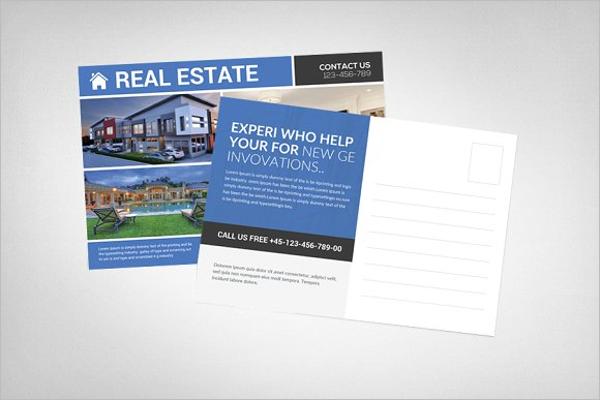 Real Estate Postcard Psd Design