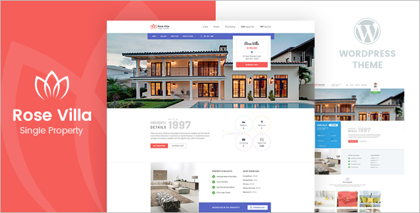 Real Estate Property Landing Page Theme