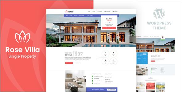 Real Estate Property Landing Page Theme