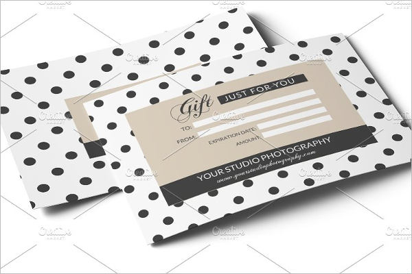 Real Gift Voucher Template