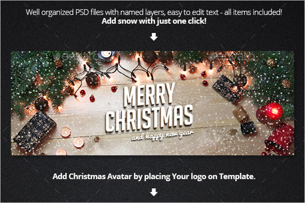 Realistic Christmas Facebook Cover