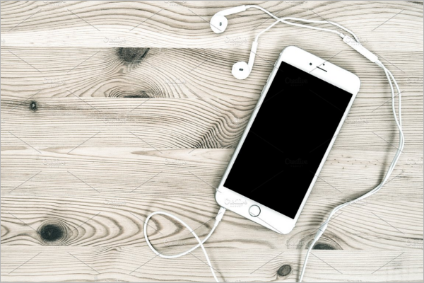 RealisticHeadphones Mockup Design