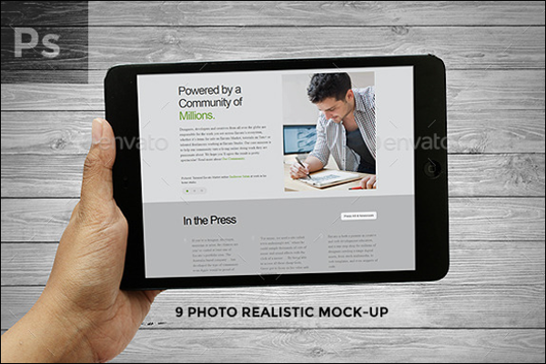 Realistic Photo Filter Template