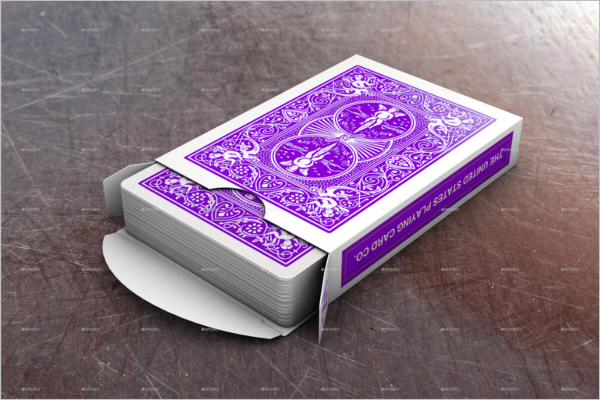 Realistic Playing Cards Mock up